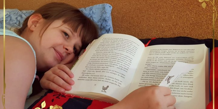 Den Alltag mit einem Buch ausklingen lassen…