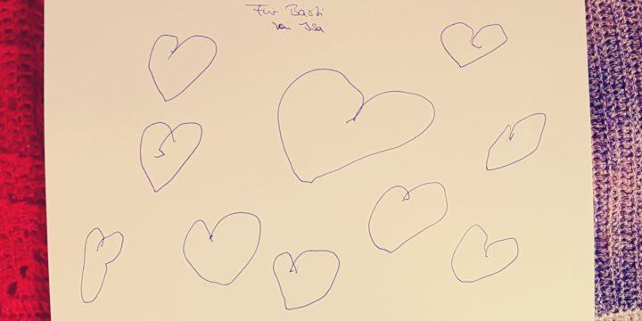 Mit Liebe gemalt