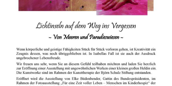 """""""Lichtinseln auf dem Weg ins Vergessen – Von Meeren und Paradieswiesen"""""""